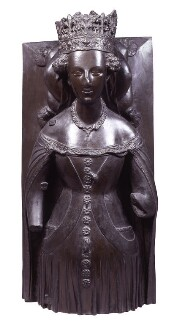Joanna of Navarre, by Elkington & Co, cast by  Domenico Brucciani, after  Unknown artist - NPG 398