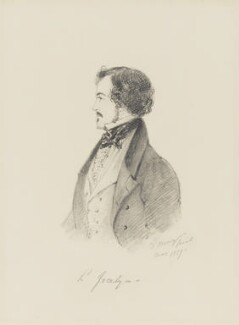 Robert Jocelyn, Viscount Jocelyn, by Alfred, Count D'Orsay - NPG 4026(38)