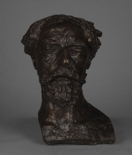 Augustus John, by Jacob Epstein - NPG 4295