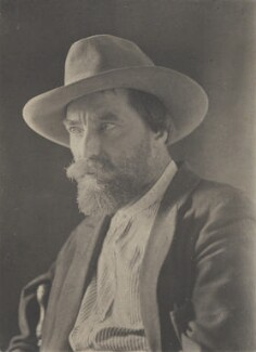 Augustus John, by (Charles) John Hope-Johnstone - NPG P134(25)