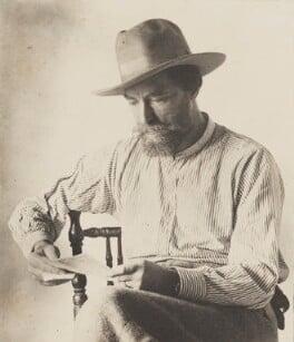 Augustus John, by (Charles) John Hope-Johnstone, 1922 - NPG P134(18) - © reserved; collection National Portrait Gallery, London