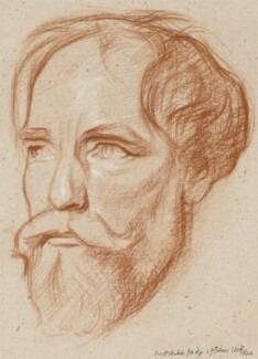 Augustus John, by Sir William Rothenstein, 1924 - NPG 4246 - © National Portrait Gallery, London