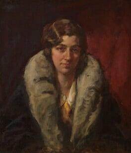 Amy Johnson, by Sir John Longstaff, 1930 - NPG 4201 - © National Portrait Gallery, London