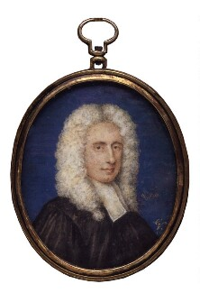 Maurice Johnson, by George Vertue - NPG 4684