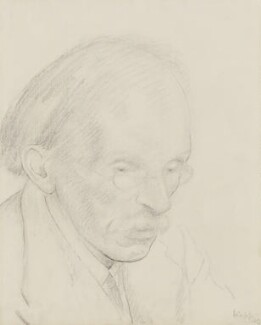 Edward Johnston, by Edmond Xavier Kapp - NPG 3330