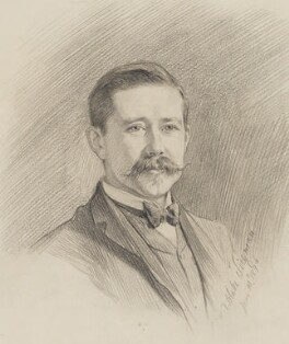 Sir Harry Hamilton Johnston, by Theodore Blake Wirgman, 1894 -NPG 2902 - © National Portrait Gallery, London