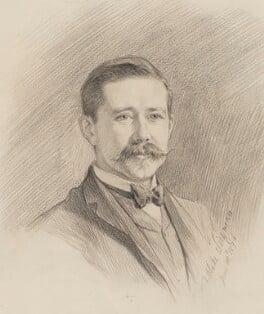 Sir Harry Hamilton Johnston, by Theodore Blake Wirgman, 1894 -NPG 2902 - © National Portrait Gallery, London