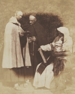 The Monks of Kennaquhair, by David Octavius Hill, and  Robert Adamson - NPG P6(144)
