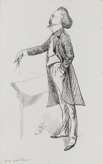 Henry Arthur Jones, by Harry Furniss - NPG 3474