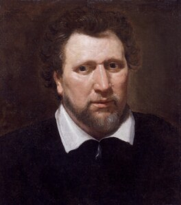 Benjamin ('Ben') Jonson, by Abraham van Blyenberch, circa 1617 - NPG  - © National Portrait Gallery, London