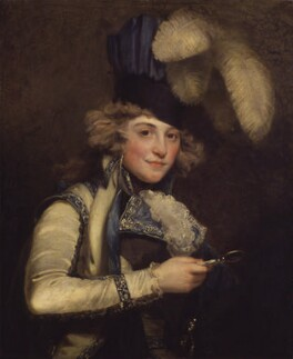 Dorothy Jordan, by John Hoppner, exhibited 1791 - NPG  - © National Portrait Gallery, London