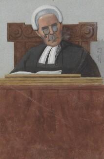 Sir Edward Ebenezer Kay, by Sir Leslie Ward - NPG 2727