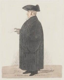 John Keate, by Richard Dighton - NPG 1116
