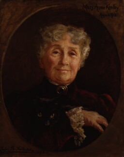 Mary Anne Keeley (née Goward), by Julia Bracewell Folkard - NPG 1558