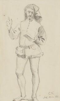 Charles Samuel Keene, by Alfred William Cooper, 1866 - NPG 2771 - © National Portrait Gallery, London