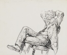 Charles Samuel Keene, by Harry Furniss - NPG 3476