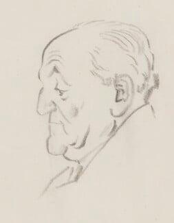 Sir Gerald Kelly, by Sir David Low - NPG 4529(186)