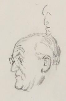 Sir Gerald Kelly, by Sir David Low - NPG 4529(187)