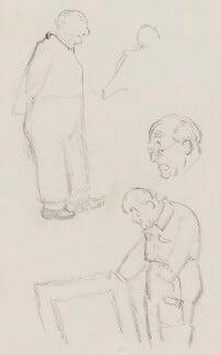 Sir Gerald Kelly, by Sir David Low - NPG 4529(188)