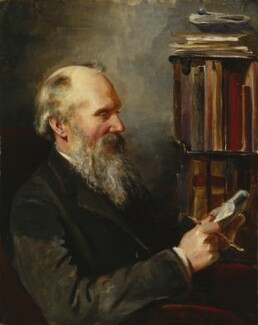 William Thomson, Baron Kelvin, by Elizabeth King (née Thomson) - NPG 1708