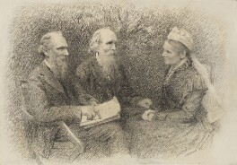 Baron Kelvin with his brother and sister, by Agnes Gardner King, 1907 - NPG 1708(a) - © National Portrait Gallery, London