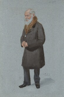 William Thomson, Baron Kelvin, by Sir Leslie Ward, published in Vanity Fair 29 April 1897 - NPG 3005 - © National Portrait Gallery, London