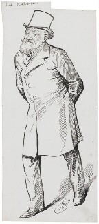 William Thomson, Baron Kelvin, by Harry Furniss - NPG 3587