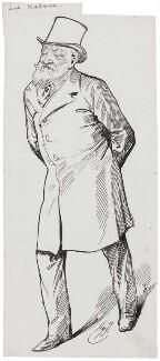William Thomson, Baron Kelvin, by Harry Furniss, 1880s-1900s - NPG 3587 - © National Portrait Gallery, London
