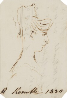 Possibly Adelaide Kemble, by Alfred Edward Chalon - NPG 1962(d)