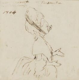 Maria Theresa Kemble, by Alfred Edward Chalon, 1804 - NPG 1962(b) - © National Portrait Gallery, London