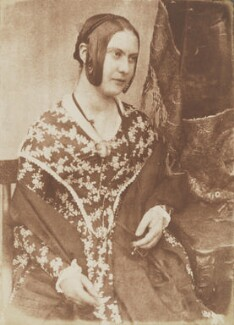 Miss Kemp, by David Octavius Hill, and  Robert Adamson - NPG P6(121)