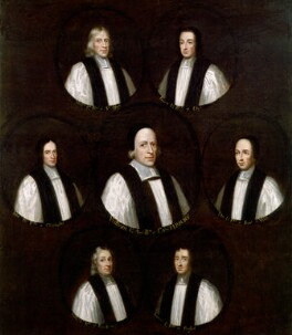 The Seven Bishops Committed to the Tower in 1688, by Unknown artist - NPG 79