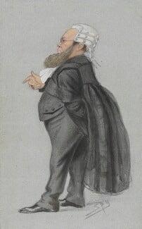 Edward Vaughan Hyde Kenealy, by Sir Leslie Ward, published in Vanity Fair 1 November 1873 - NPG 2685 - © National Portrait Gallery, London