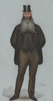 Sir John Henry Kennaway, 3rd Bt, by Sir Leslie Ward, published in Vanity Fair 10 April 1886 - NPG 2582 - © National Portrait Gallery, London