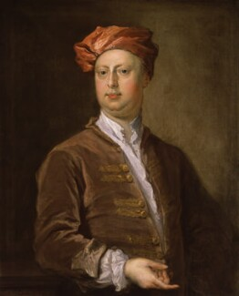 Probably William Kent, by Bartholomew Dandridge - NPG 1557
