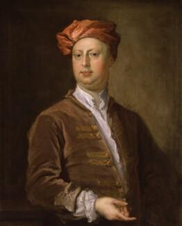 Probably William Kent, by Bartholomew Dandridge, circa 1736 - NPG 1557 - © National Portrait Gallery, London