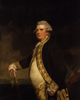 Augustus Keppel, Viscount Keppel, by Sir Joshua Reynolds - NPG 179
