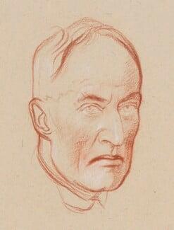 William Paton Ker, by William Rothenstein - NPG 4803