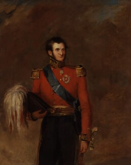 Sir Edward Kerrison, 1st Bt, by William Salter - NPG 3729