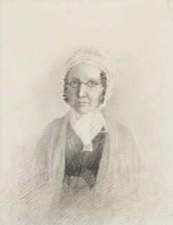 Eliza King (née Young), by Elizabeth King (née Thomson) - NPG 1708(h)