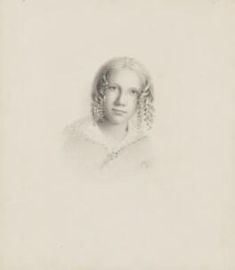 Elizabeth King (née Thomson), by Elizabeth King (née Thomson) - NPG 1708(c)