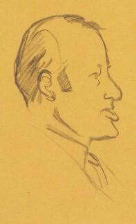 William Stephen Richard King-Hall, Baron King-Hall, by Sir David Low - NPG 4529(196)