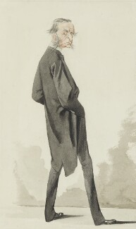 Charles Kingsley, by Adriano Cecioni, published in Vanity Fair 30 March 1872 - NPG 1939 - © National Portrait Gallery, London