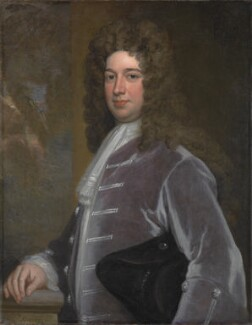 Evelyn Pierrepont, 1st Duke of Kingston, by Sir Godfrey Kneller, Bt - NPG 3213