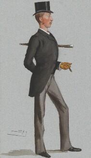 Algernon Keith-Falconer, 9th Earl of Kintore, by Sir Leslie Ward - NPG 4722