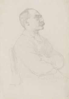 Rudyard Kipling, by William Strang - NPG 2919