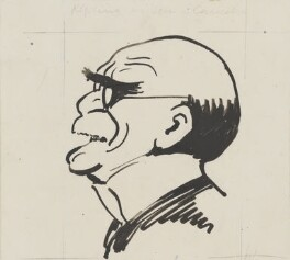 Rudyard Kipling, by Harry Furniss, 1880s-1900s - NPG 3588 - © National Portrait Gallery, London