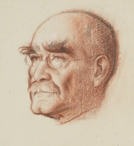 Rudyard Kipling, by William Rothenstein - NPG 3874
