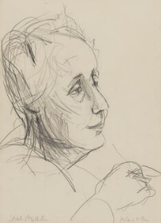 Melanie Klein, by Ishbel McWhirter - NPG 5108