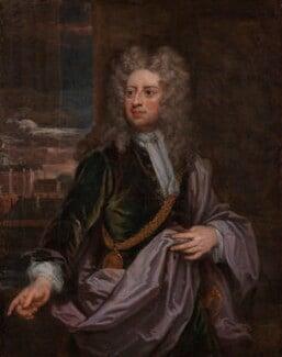 Sir Godfrey Kneller, Bt, by Sir Godfrey Kneller, Bt, circa 1706-1711 - NPG 3214 - © National Portrait Gallery, London